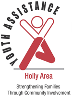 Holly Area Youth Assistance Logo - Strengthening Families Through Community Involvement