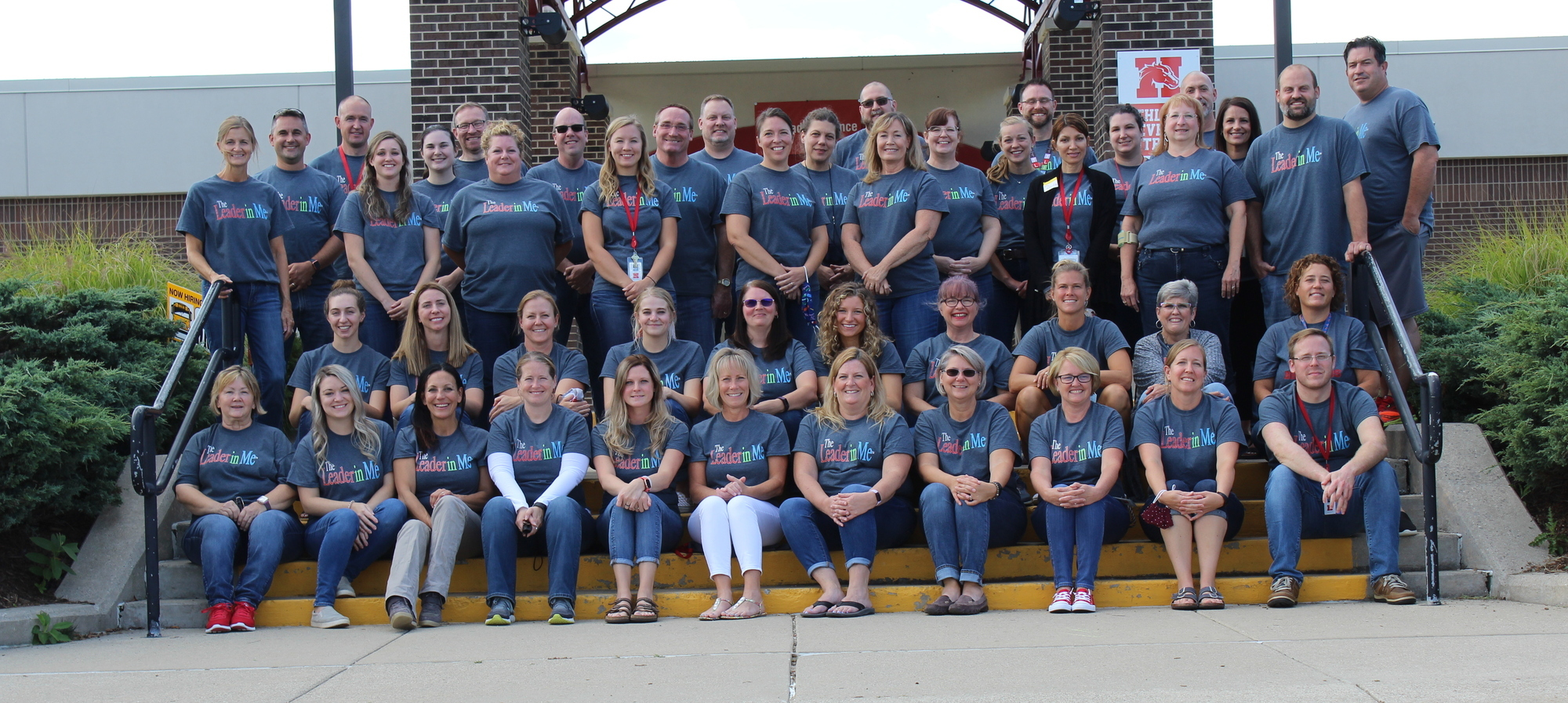 Holly Middle School Staff Picture 2019-2020