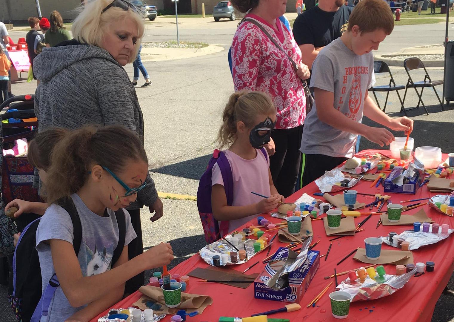 Rock Painting - Patterson Parent Group